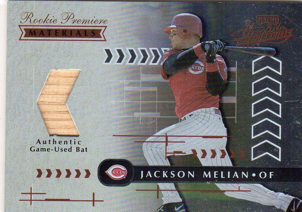 2001 Absolute Memorabilia #171 Jackson Melian RPM