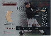 2001 Absolute Memorabilia #174 Joe Crede RPM