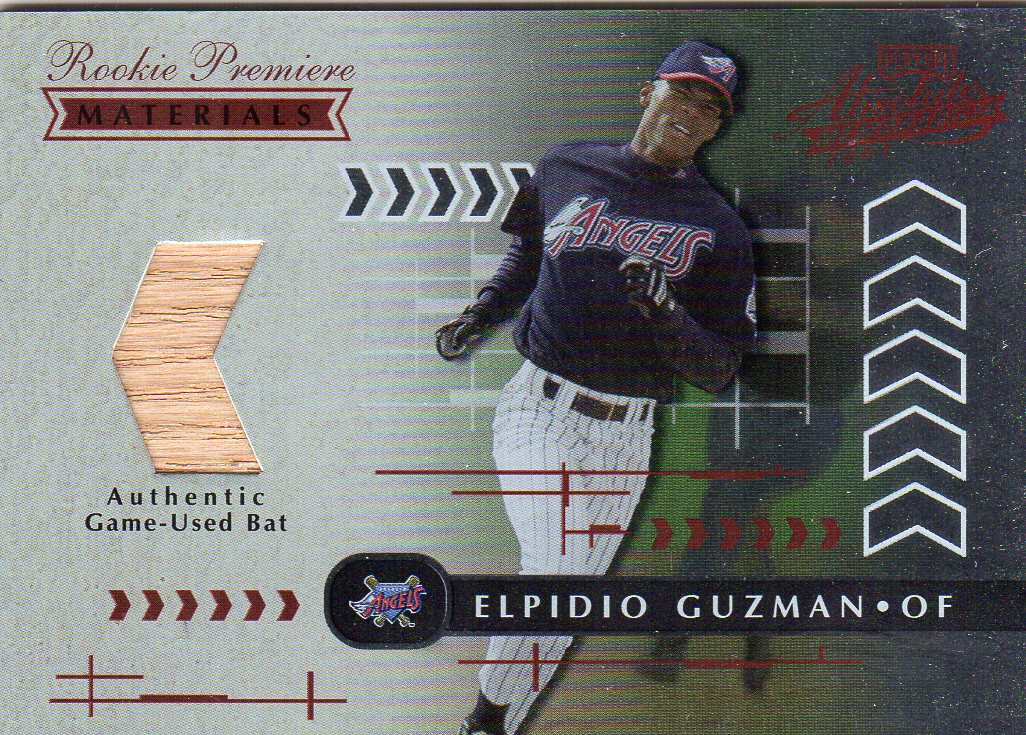 2001 Absolute Memorabilia #189 Elpidio Guzman RPM RC