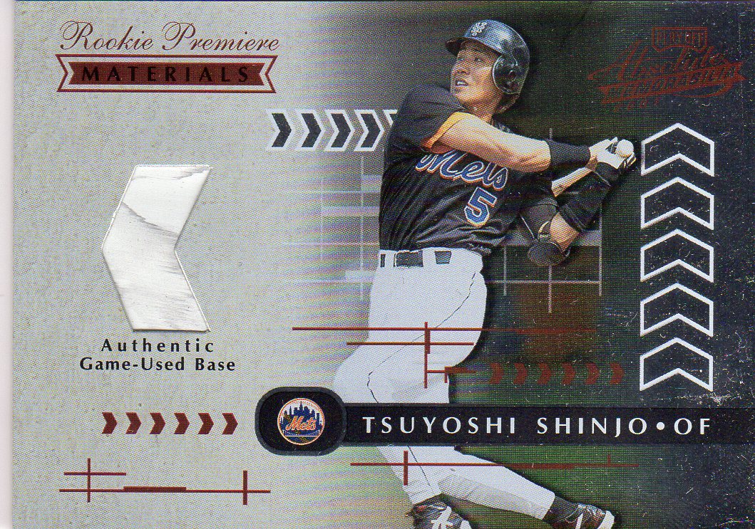 2001 Absolute Memorabilia #192 Tsuyoshi Shinjo RPM RC