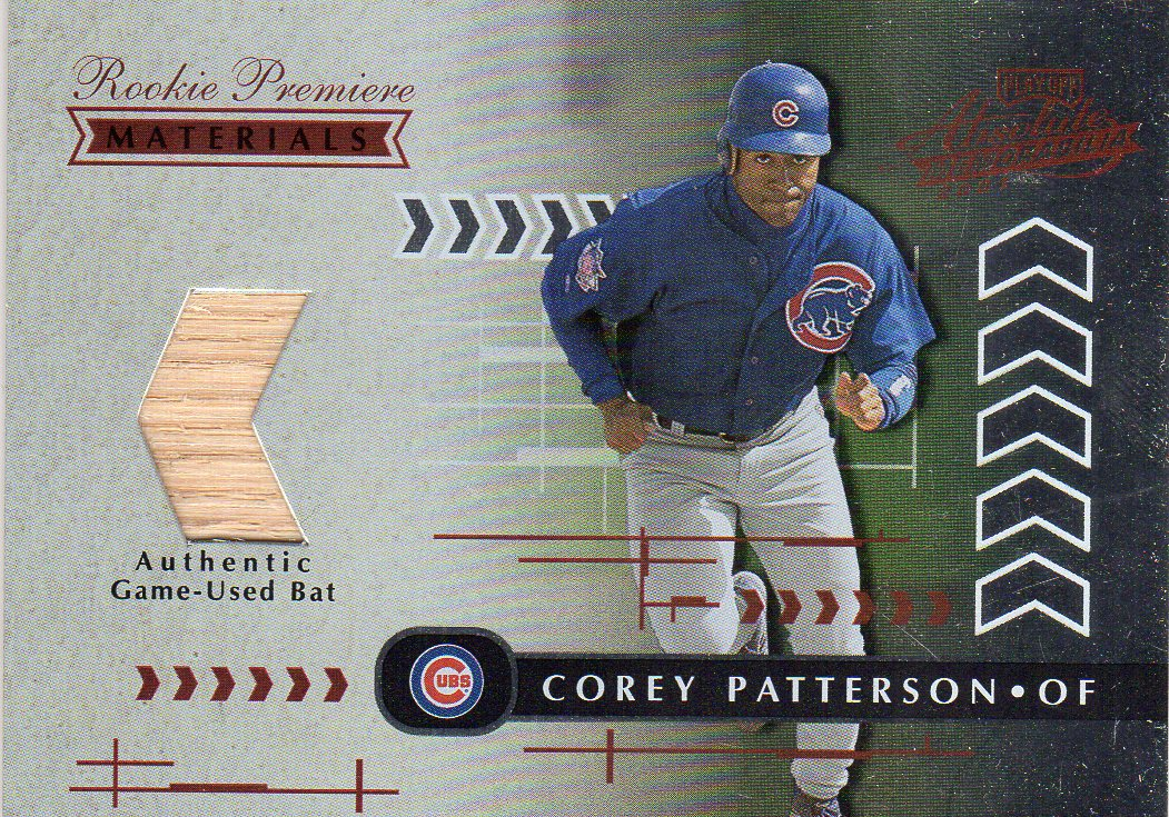2001 Absolute Memorabilia #194 Corey Patterson RPM