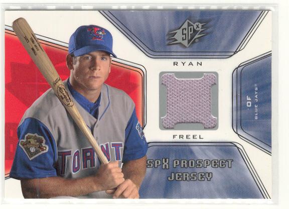 2001 SPx #128 Ryan Freel JSY RC