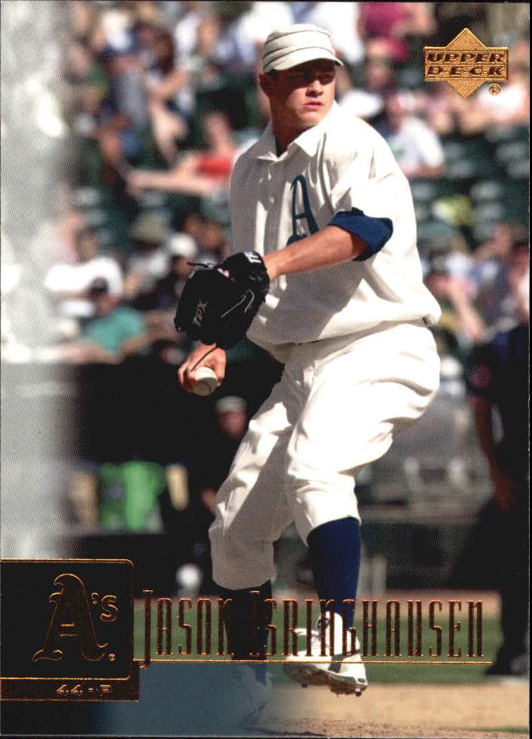 2001 Upper Deck #58 Jason Isringhausen