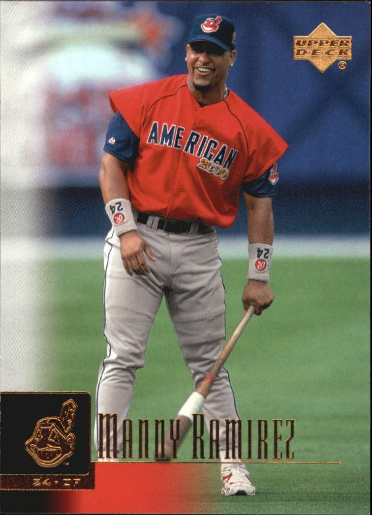 2001 Upper Deck #81 Manny Ramirez UER
