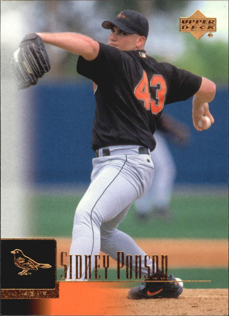2001 Upper Deck #94 Sidney Ponson