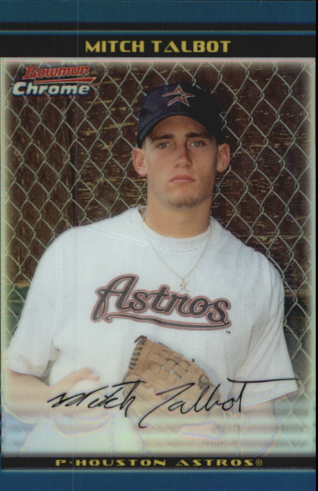 2002 Bowman Chrome Draft Refractors #74 Mitch Talbot