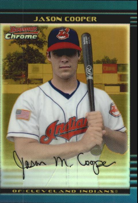 2002 Bowman Chrome Draft Gold Refractors #9 Jason Cooper