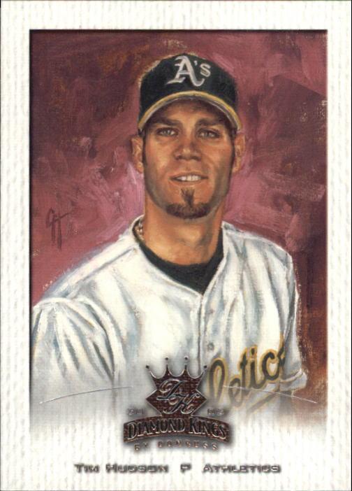 2002 Diamond Kings #13 Tim Hudson