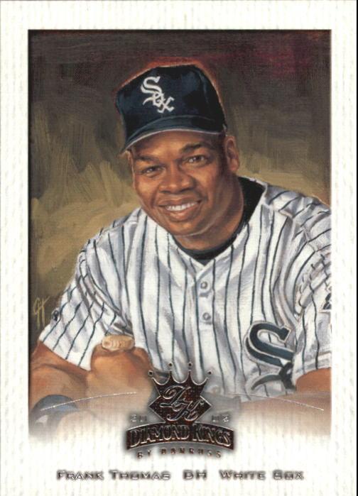 2002 Diamond Kings #66 Frank Thomas
