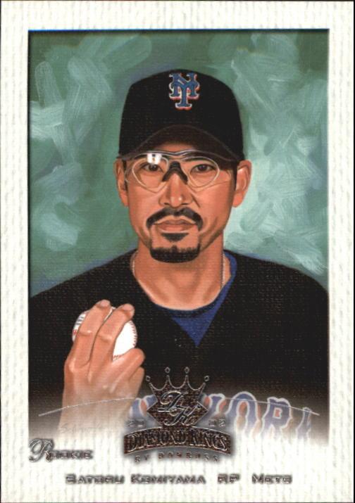 2002 Diamond Kings #152 Satoru Komiyama RC
