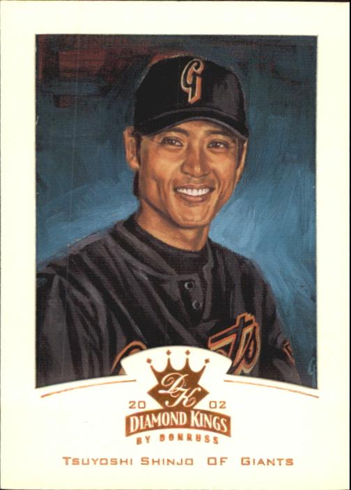 2002 Diamond Kings Bronze Foil #3 Tsuyoshi Shinjo