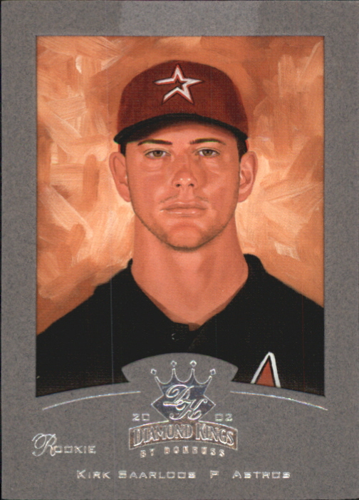 2002 Diamond Kings Silver Foil #154 Kirk Saarloos