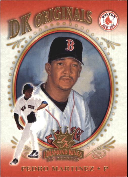 2002 Diamond Kings DK Originals #DK3 Pedro Martinez