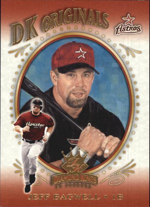 2002 Diamond Kings DK Originals #DK8 Jeff Bagwell