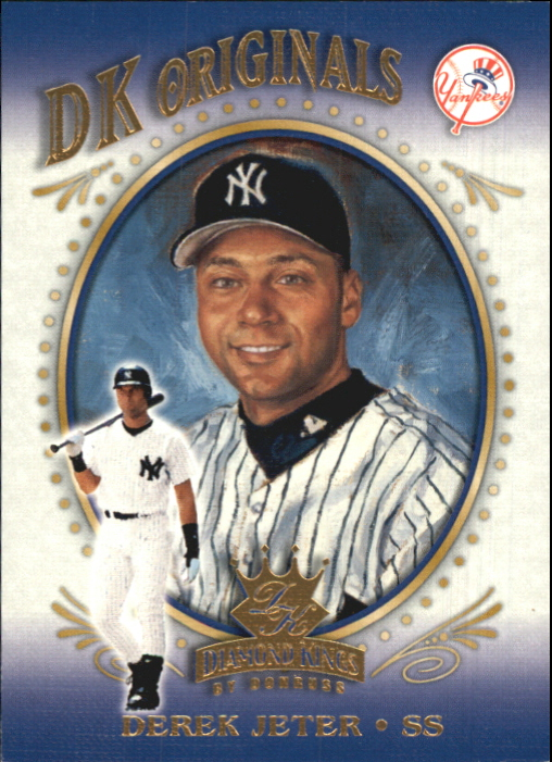 2002 Diamond Kings DK Originals #DK10 Derek Jeter