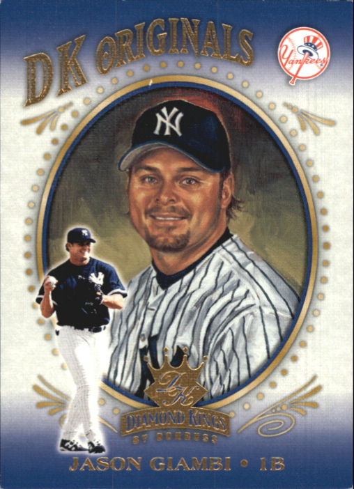 2002 Diamond Kings DK Originals #DK14 Jason Giambi