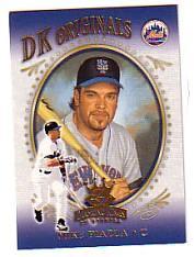 2002 Diamond Kings DK Originals #DK15 Mike Piazza