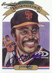 2002 Diamond Kings Recollection Autographs #28 Joe Morgan 83 DK/10