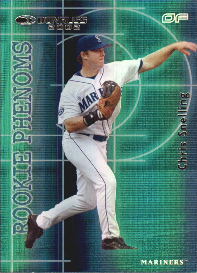 2002 Donruss Rookies Phenoms #16 Chris Snelling