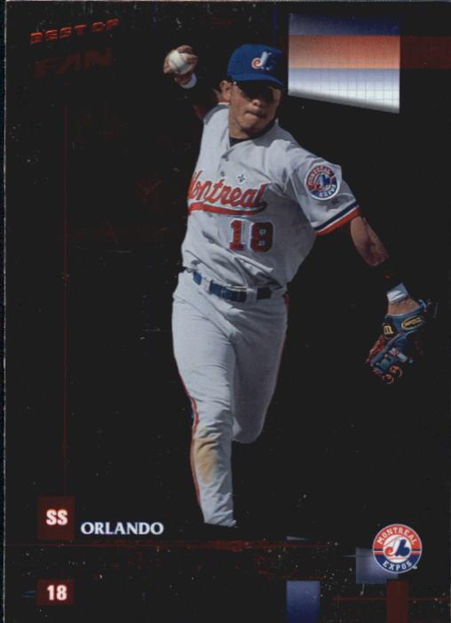 2002 Donruss Best of Fan Club #140 Orlando Cabrera