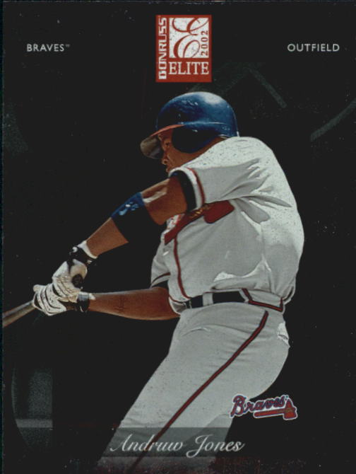2002 Donruss Elite #56 Andruw Jones