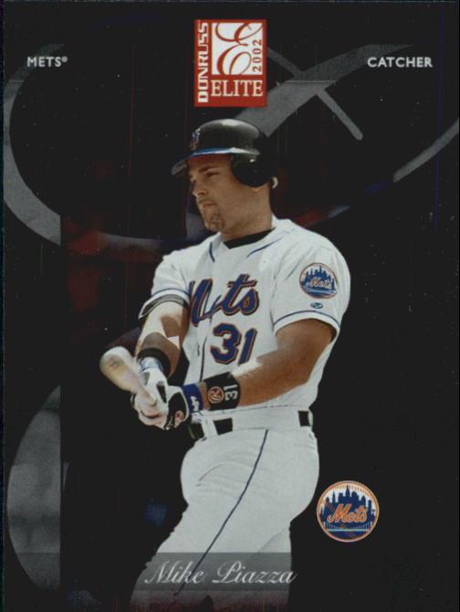 2002 Donruss Elite #85 Mike Piazza