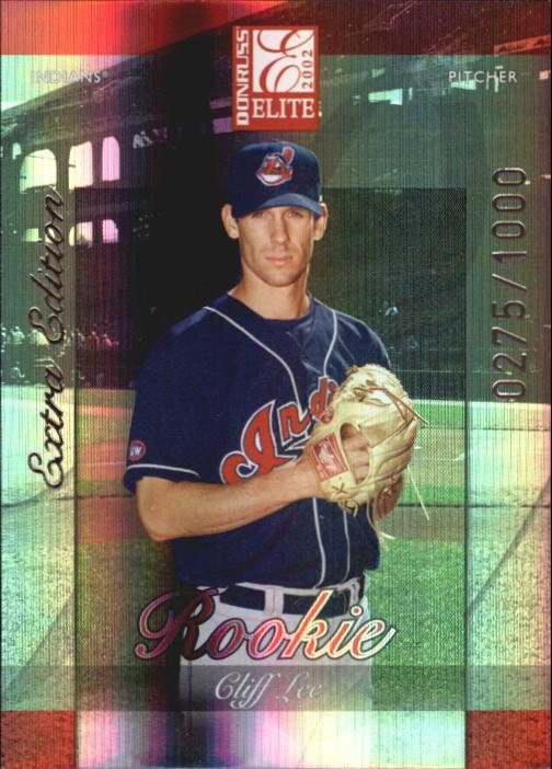 2002 Donruss Elite #237 Cliff Lee/900* RC