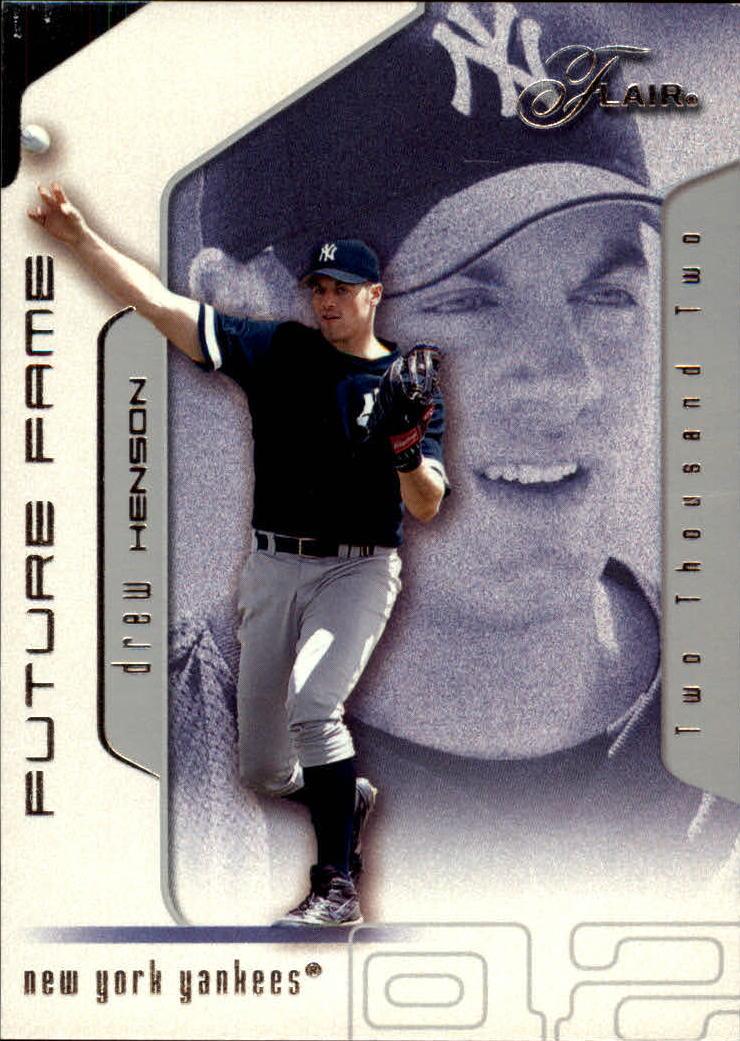 2002 Flair #107 Drew Henson FF