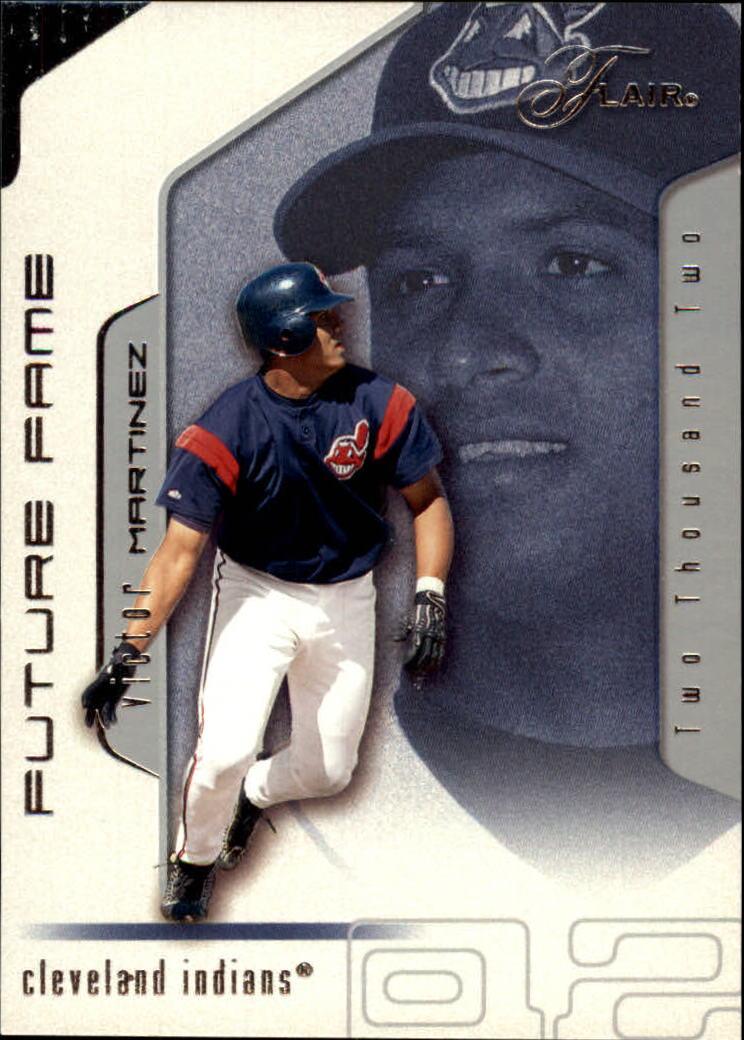 2002 Flair #110 Victor Martinez FF