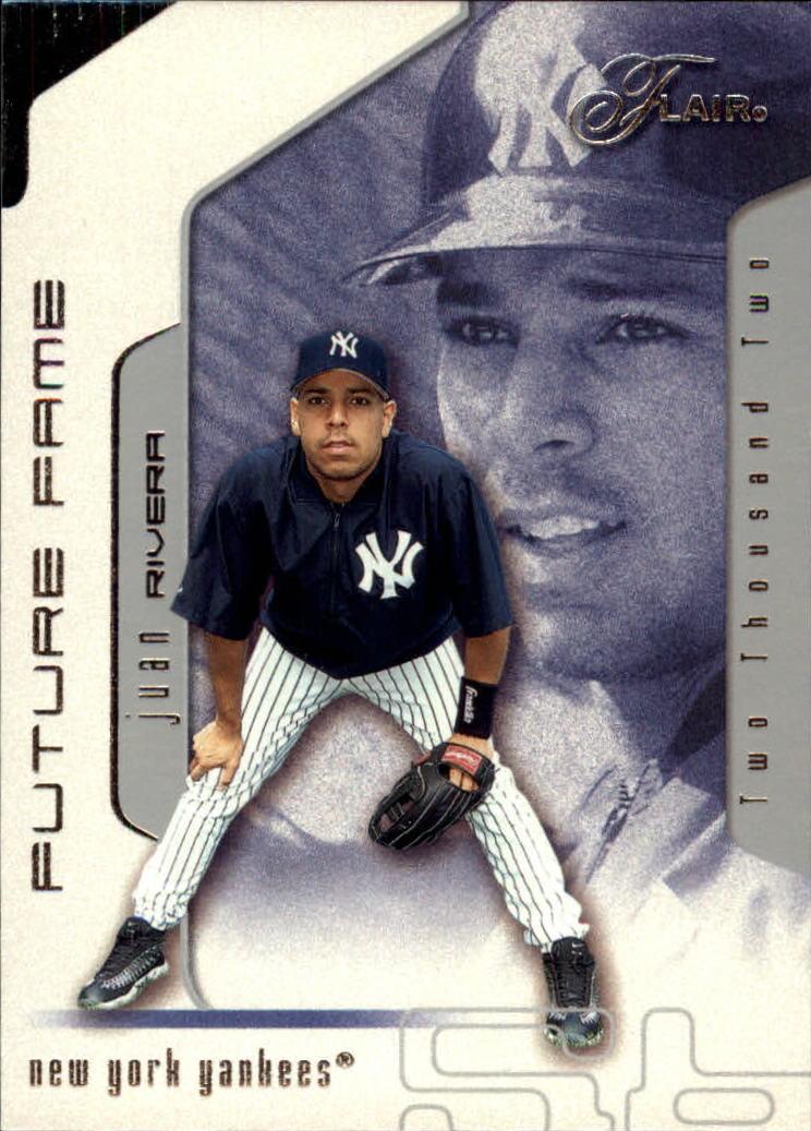 2002 Flair #111 Juan Rivera FF