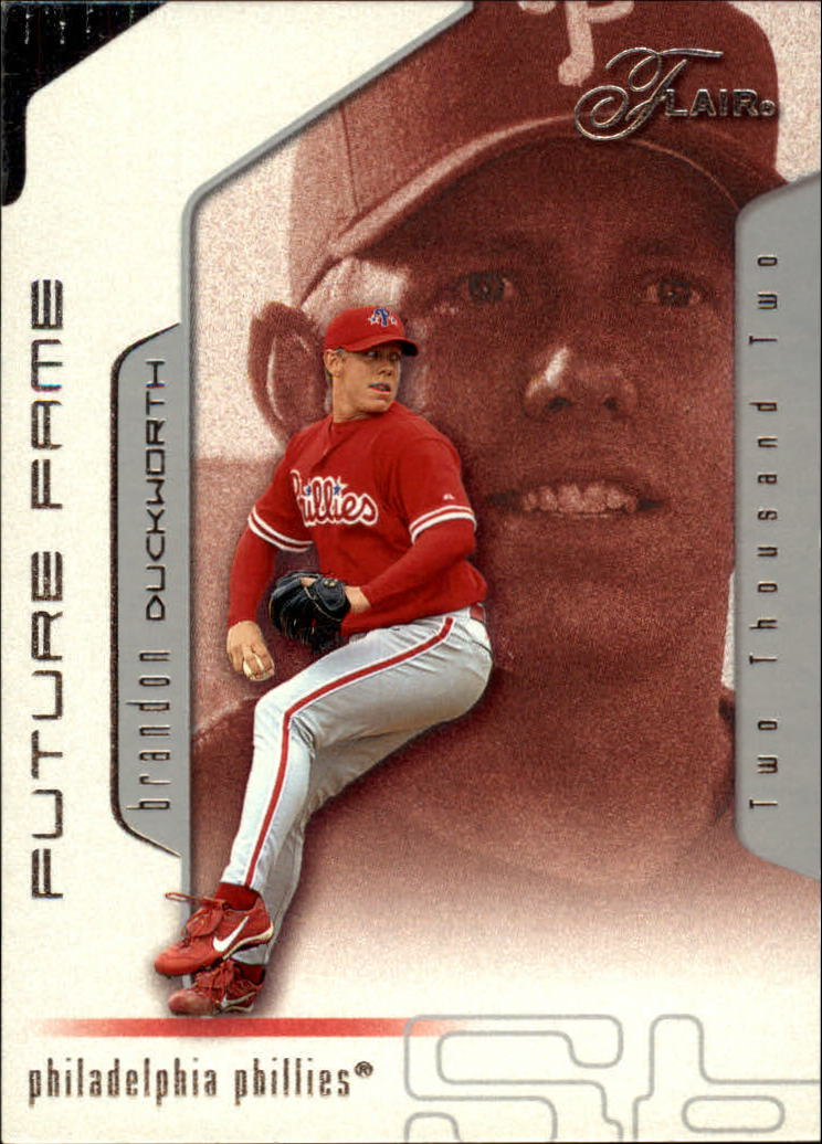 2002 Flair #113 Brandon Duckworth FF
