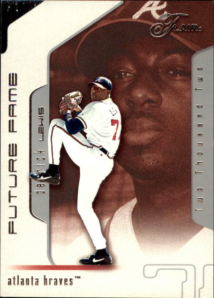 2002 Flair #116 Derrick Lewis FF