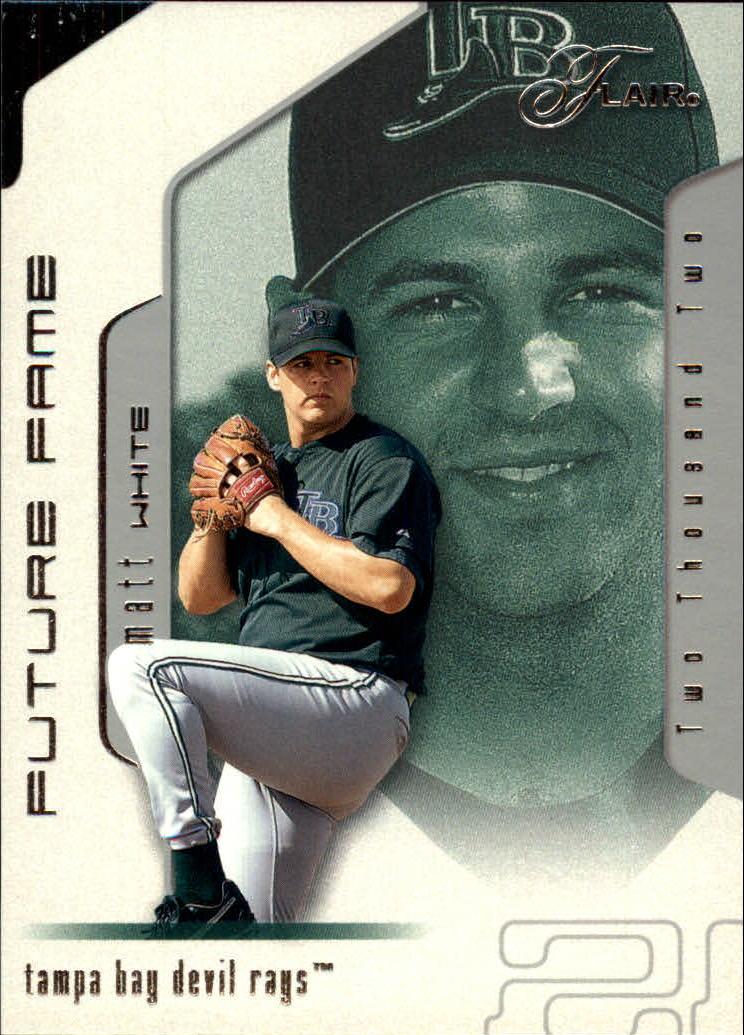 2002 Flair #124 Matt White FF