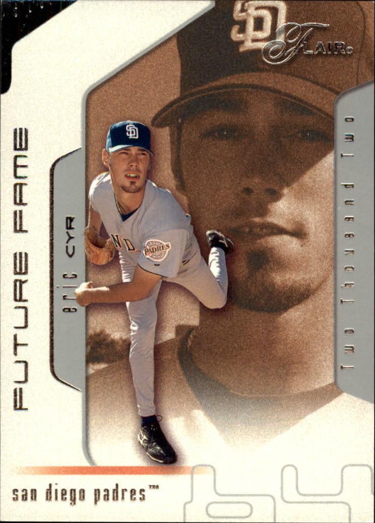 2002 Flair #125 Eric Cyr FF