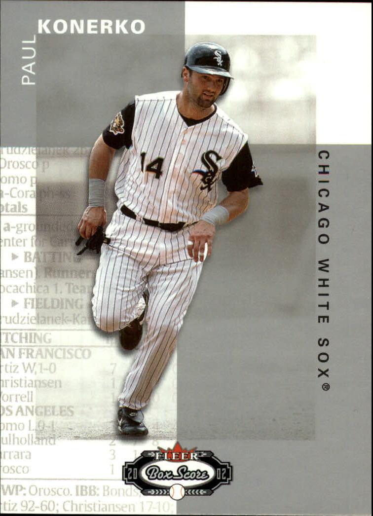 2002 Fleer Box Score #8 Paul Konerko