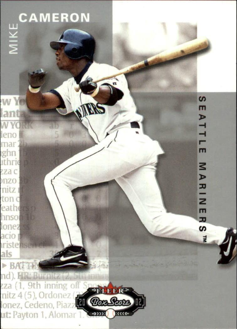 2002 Fleer Box Score #11 Mike Cameron