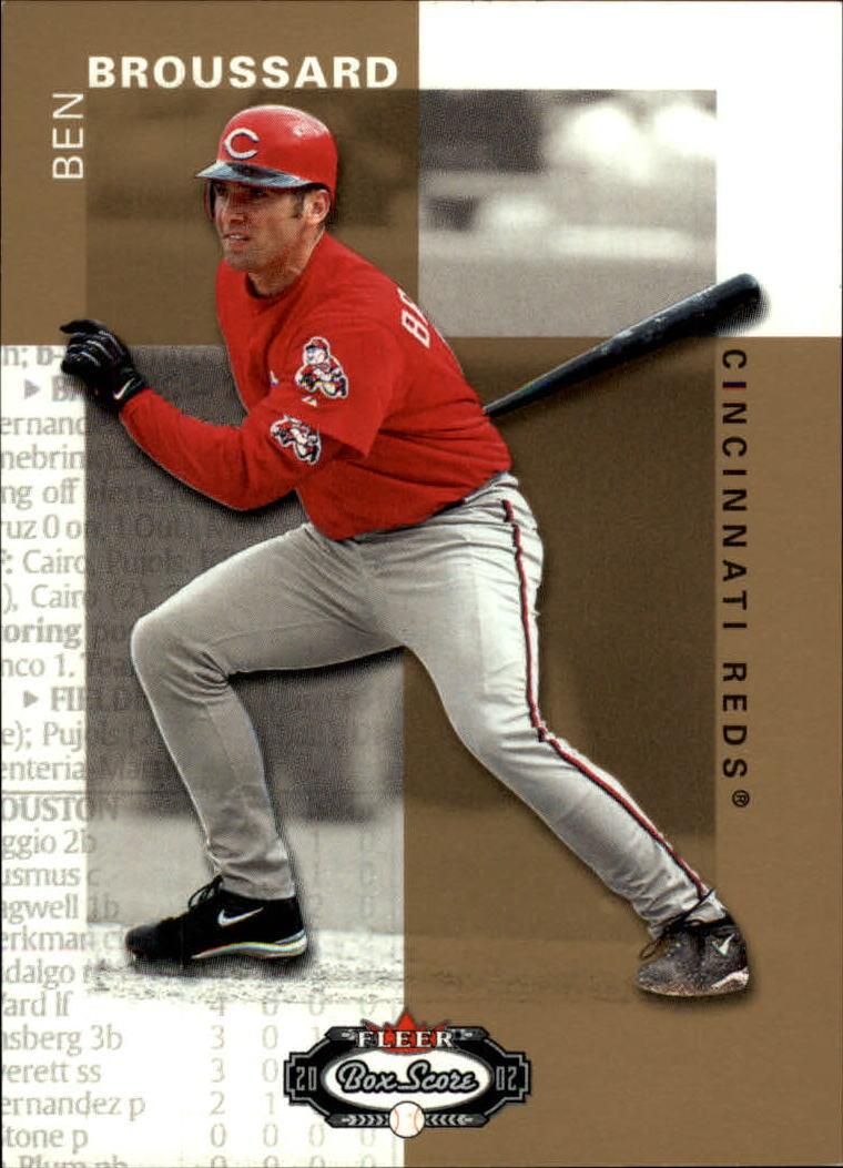 2002 Fleer Box Score #143 Ben Broussard RP