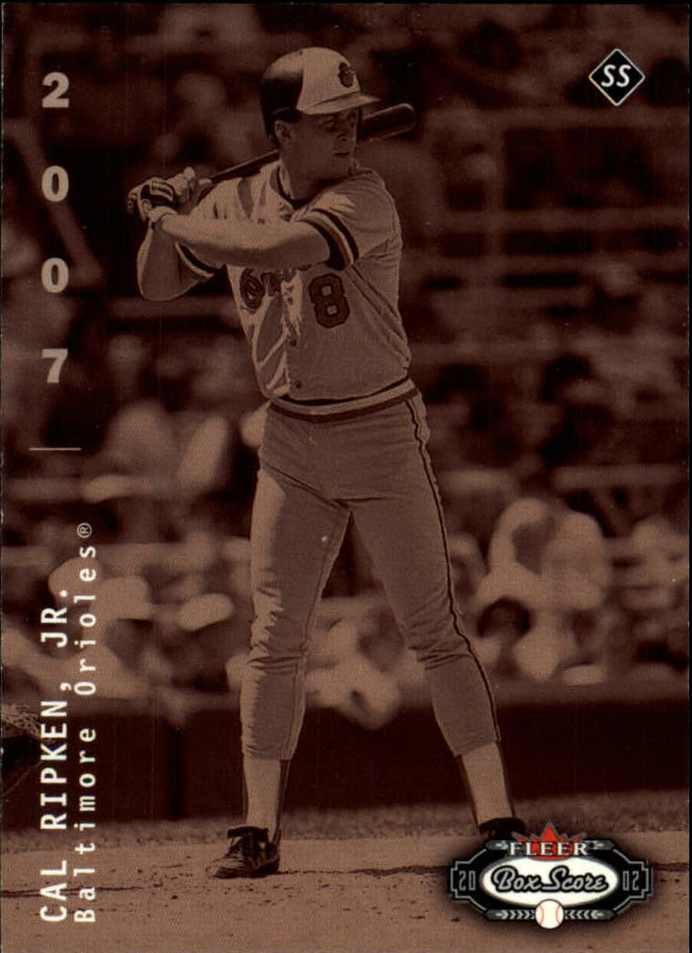 2002 Fleer Box Score #272 Cal Ripken CT