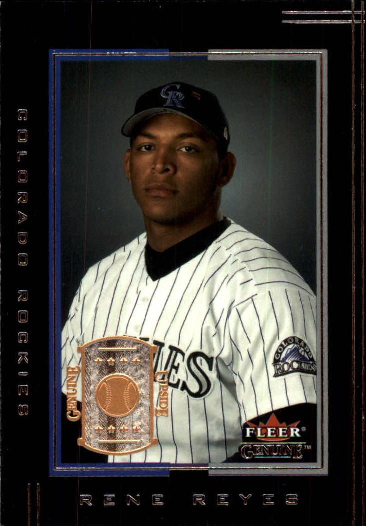 2002 Fleer Genuine #103 Rene Reyes UP RC