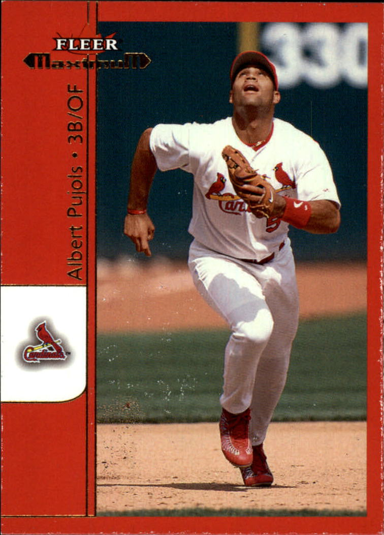 2002 Fleer Maximum #24 Albert Pujols