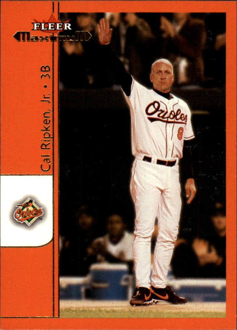 2002 Fleer Maximum #102 Cal Ripken