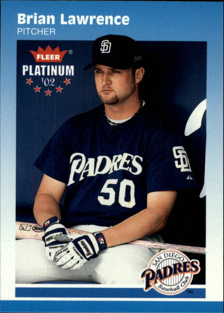 2002 Fleer Platinum #110 Brian Lawrence
