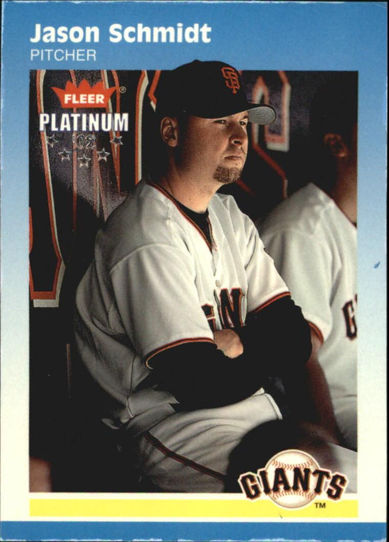 2002 Fleer Platinum Parallel #53 Jason Schmidt