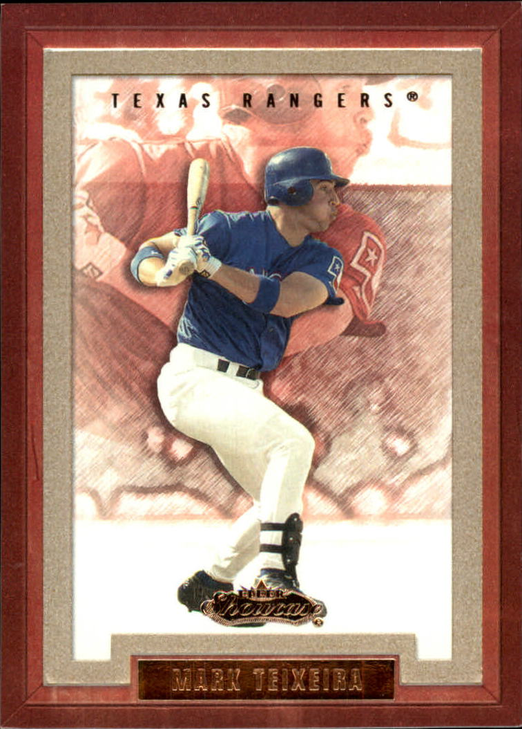 2002 Fleer Showcase #149 Mark Teixeira RS