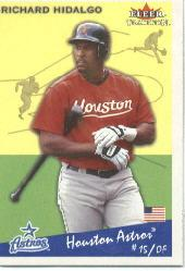 2002 Fleer Tradition #350 Richard Hidalgo