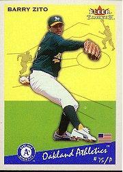 2002 Fleer Tradition #357 Barry Zito