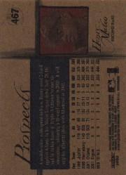 2002 Fleer Tradition #467 Henry Mateo PROS back image
