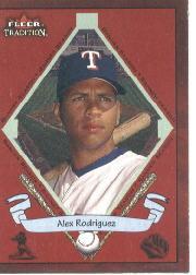 2002 Fleer Tradition #490 Alex Rodriguez BNR