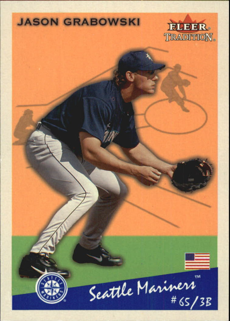 2002 Fleer Tradition Glossy #168 Jason Grabowski