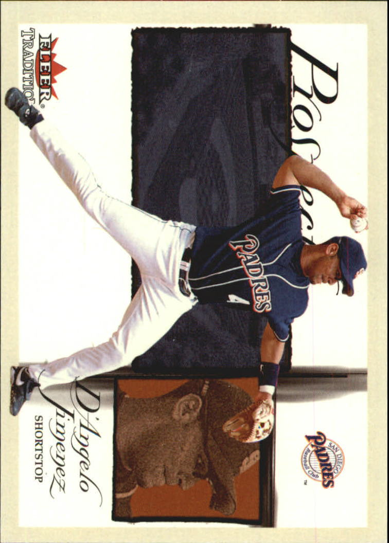 2002 Fleer Tradition Glossy #463 D'Angelo Jimenez PROS